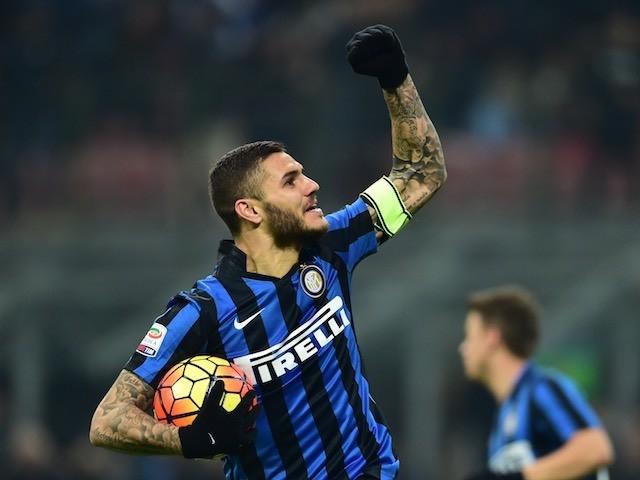Antonio Candreva ukinira ikipe ya Inter Milan  mu mashoti 12 yambere atera ahagana mu izamu nta narimwe ryerekeza mu izamu.