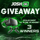 JoshOG June Oculus Quest All In One VR Headset Giveaway (06/30/2019) {WW}