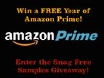 Win a Year of Amazon Prime from SnagFreeSamples (10/27/2015)