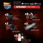 BEAT esports Giveaway with CORSAIR, Plextor & Soylent (11 Winners) - 4/19/18 {??}