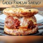 Keto/Low Carb Chicken Parmesan Sandwich on Cheesebuns