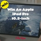 Win An Apple iPad Pro 10.5-inch {WW} (06/17/2018)