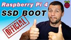 Raspberry Pi 4 Official USB SSD Boot (2020)