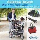 Graco Father's Day Outdoor Adventure Giveaway! Over $600 in prizes (6/18/2017) {US}