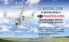 Win A DJI Phantom 4 Pro Quadcopter GPS Camera Drone! ARV $1499 {US} (5/31/17)