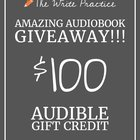 Win $100 credit to Audible.com (10/18/2017) {??}