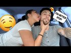 Leading my boyfriend on while he's driving prank