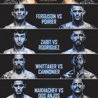 Khabib shared UFC 254 card
