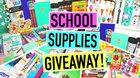 HUGE BACK TO SCHOOL SUPPLIES&MAKEUP GIVEAWAY! (08/03/2017) {??}