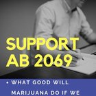 SUPPORT BILL AB 2069 AND END MARIJUANA WORKPLACE DISCRIMINATION