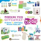 Rockin' Eco Giveaway - $245 in gifts! Ends 7/5 {WW}