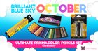 Ultimate Prismacolor Colored Pencils set! 150 colored pencils plus a sharpener and blending tools. (10/31/2017) {US CA UK AUS NZ}