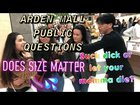 """Arden mall public interview """"What president is on the $20 bill"""""""