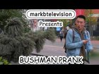 The Bushman Scare prank in Manchester England