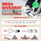 Autobright 800 bike light Mega Giveaway {WW} (05/18/2018)