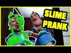 SLIME PRANK GONE WRONG - Hello Neighbor Mod