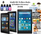 Epic Wellness Lovers BOOKS & PRODUCTS GIVEAWAY with Kindle Fire HD 8 Giveaway! Value $439! Ends 6/1 {WW}