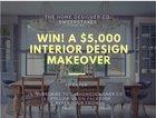 WIN A FREE Interior Design Makeover (worth over $5000) (09/11/2017) {US}