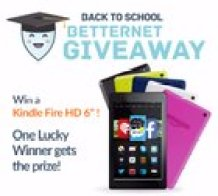 Win a Kindle Fire HD 6 from BetterNet (9/14/2015)