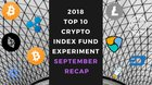 EXPERIMENT – Tracking Top 10 Cryptos of 2018 – Month 33 – Down -76%