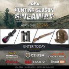 $2265 Rifle package including CZ 557 Sporter Rifle (Your Choice of Caliber), optics, and MORE in the Hunting Season Giveaway (10/15/2017) {US}