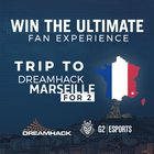 Win a Trip to DreamHack Marseille 2018 for you and one other person {WW} (4/9/2018)