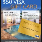 Enter for your chance to win a $50 Visa card (10/31/2018) {US}