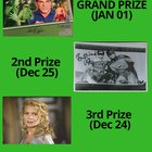 Giveaway of autographs (Lou ferrigno, Burt Ward, laurie Holden, Jaleel White)