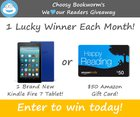 Win a Kindle Fire 7 OR $50 Amazon Gift Card - 2 Winners! {WW} some exclusions (12/31/2019)