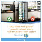 【Weeklygift】If you leave a refrigerator open in a closed room, will it make the room cooler? Just leave your answer.