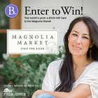 Win a $500 Magnolia Market gift card from Babywise {US} (7/7/2017)