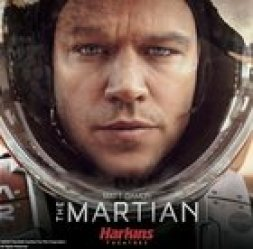 Win a prize pack from the movie The Martian which could include a $1000 Ares 3 Mission Space helmet - 5 prize pack winners (10/12/15)