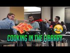 Cooking in the Library (2019)😂🥓📚