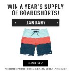 Win a year's supply of Billabong boardshorts! (7/30/2018) {??}