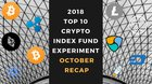 I bought k of the Top 10 Cryptos on January 1st, 2018 (Oct Update – Month 34)