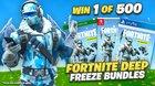 Win a Fortnite Deep Freeze Bundle - 500 winners! (11/28/18)