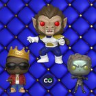 Win the Notorious B.I.G. with Crown & Vegeta Ape & Children of the Forest Metallic - Funko Pop! NYCC 2018 10/23 {US}