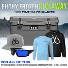 Win a $400 Yeti Cooler Filled with Filthy Anglers Gear! (11/20/2018)