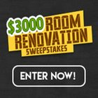 Enter Room Renovation Sweepstakes for a chance to win $3,000 Cash! (10/15/2018) {US}