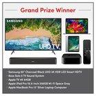 Win a 50″ Samsung 4K TV, a Bose sound system, Apple TV 4K, Apple iPad Pro and an Apple Macbook Pro {US} (11/30/2018)