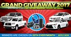 Win a Free Car Giveaway {ww} (12/20/2017)
