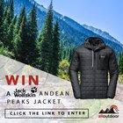 Win a Jack Wolfskin Andean Peaks jacket - $150 value (10/21/2017) {??}