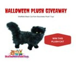 Win a Gorgeous Plush Black Cat (10/14/2015)