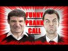 Angry salesman prank call
