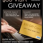 Win a $50 Visa Gift Card from Modern Piano Moving {US} (11/1/2017)