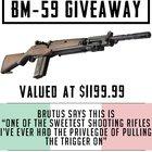 Yowzer, look at this rad rifle! Win A BM-59 .308 Rifle (02/08/2018) {US}