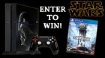 Win a PlayStation 4 Star Wars Battlefront Limited Edition Bundle!