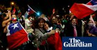 Celebrations as Chile votes by huge majority to scrap Pinochet-era constitution
