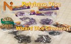 Polyhero Wizard Dice Sets & Wizard Hat d20s! 4 Winners {??} (02/08/2018)