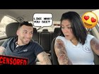 Flashing My Girlfriend While She's Driving!! *She Passed Out*